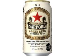 サッポロ ラガービール 缶350ml