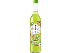 サッポロ ウメカク 果実仕立ての梅酒カクテル キウイ 瓶500ml