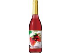 サッポロ 苺のワインスパークリング