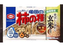 亀田製菓 玄米亀田の柿の種 袋200g