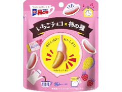 亀田製菓 チョコがかかった柿の種 いちごチョコ 袋35g