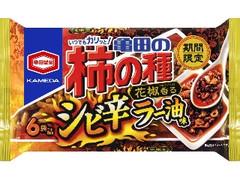 亀田製菓 亀田の柿の種 シビ辛ラー油味 袋182g