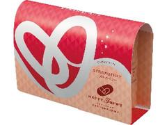 亀田製菓 HAPPY Turn's クリスピータイプ ストロベリー 箱10個