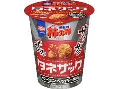 亀田製菓 亀田の柿の種 タネザック ベーコンペッパー風味 カップ50g
