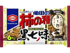 亀田製菓 亀田の柿の種 黒七味味 袋182g