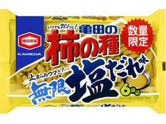 亀田製菓 亀田の柿の種 無限塩だれ味