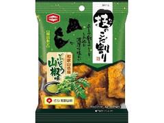 亀田製菓 技のこだ割り ぶどう山椒味 袋45g