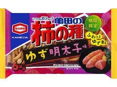 亀田製菓 亀田の柿の種 ゆず明太子味