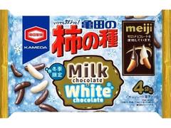 亀田製菓 亀田の柿の種 ミルクチョコ&ホワイトチョコ