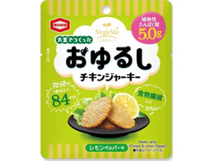亀田製菓 大豆でつくったおゆるしチキンジャーキー