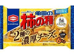 亀田製菓 亀田の柿の種 2種の濃厚チーズ味