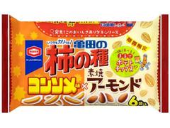 亀田製菓 亀田の柿の種 コンソメ味×アーモンド