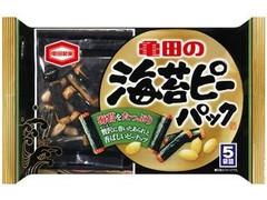 亀田製菓 海苔ピーパック 5包 袋89g