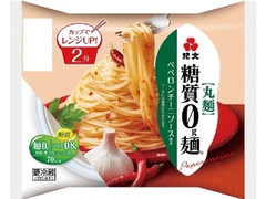 紀文 糖質0g麺 ペペロンチーニソース付き 袋168g
