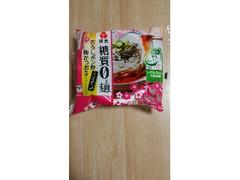 紀文 糖質0g麺 おろしポン酢梅かつお風味