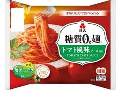 紀文 糖質0g麺 トマト風味ソース付き 袋176g