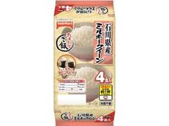テーブルマーク たきたてご飯 石川県産 ミルキークイーン 分割 袋150g×4