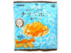 カンロ 香ばしナッツクランチ ナッツボン 塩バター味 袋37g