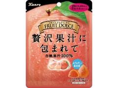 カンロ フルーツドルチェグミ 白桃 袋58g
