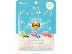 カンロ ピュレサプリグミ iMUSEプラズマ乳酸菌 袋59g