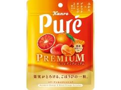 カンロ ピュレグミプレミアム みかん&ブラッドオレンジ