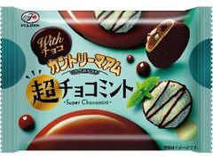 不二家 Withチョコ カントリーマアム 超チョコミント 袋45g
