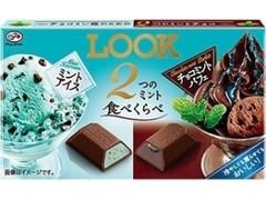 不二家 LOOK 2つのミント食べくらべ 箱12粒