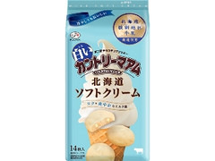 不二家 白いカントリーマアム 北海道ソフトクリーム 袋14枚