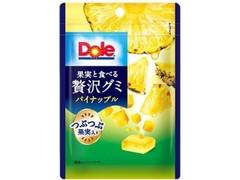 Dole 果実と食べる贅沢グミ パイナップル 袋33g