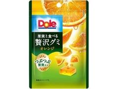 Dole 果実と食べる贅沢グミ オレンジ 袋33g