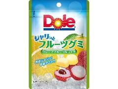 Dole シャリっとフルーツグミ グレープフルーツ&ライチ 袋40g