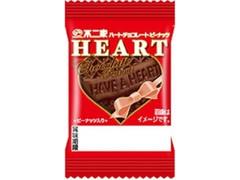 不二家 ミニハートチョコレート ピーナッツ 袋1枚