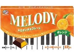 不二家 メロディチョコレート オレンジ 箱12粒