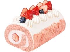 不二家 ひなまつり苺のロールケーキ