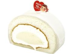 不二家 米粉のミルキークリームロール