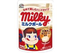 不二家 ミルキーミルクボール 小袋26g
