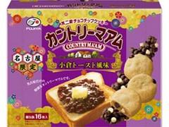 不二家 カントリーマアム 小倉トースト風味 箱16枚