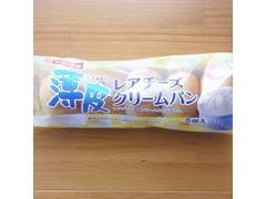 ヤマザキ 薄皮 レアチーズクリームパン 袋5個