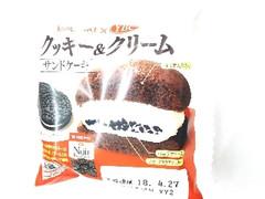 ヤマザキ クッキー&クリームサンドケーキ 袋1個