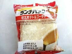 ヤマザキ ランチパック 明太ポテト&ゴーダチーズ入りソース 袋2個