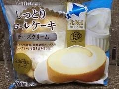 ヤマザキ しっとりロールケーキ チーズクリーム 袋1個