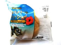 ヤマザキ たっぷりクリームツインシュー 塩バニラ&ホイップ 袋1個