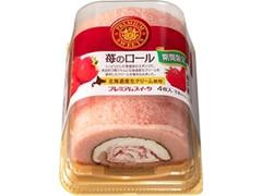 ヤマザキ PREMIUM SWEETS 苺のロール 北海道産生クリーム使用 パック4枚