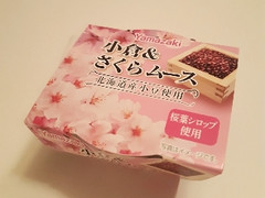 ヤマザキ 小倉&さくらムース カップ95g
