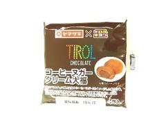 ヤマザキ チロルチョコ コーヒーヌガークリーム大福 袋4個
