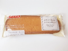 ヤマザキ ホワイトチョコクリームサンド 袋1個