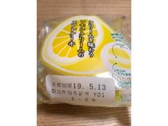 ヤマザキ クリームを味わうレモンクリームのスフレケーキ 袋1個