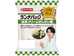 ヤマザキ ランチパック 抹茶クリームぜんざい風 袋2個