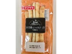 ヤマザキ bread selection もち食感スティック チーズ 袋5本