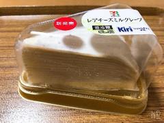 ヤマザキ レアチーズミルクレープ パック1個